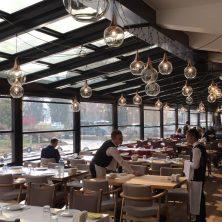 Ahşap Cam Tavan, Restaurant