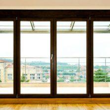Ev İçi, Ahşap Renkli, Alüminyum Kapı ve Pencere