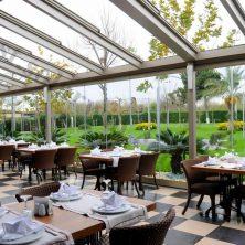 Açılır, Kapanır Cam Tavan, Restaurant, Kış Bahçesi