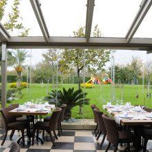 Açılır, Kapanır Cam Tavan, Kış Bahçesi, Restaurant