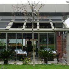 Kış Bahçesi, Açılır, Kapanır Cam Tavan, Restaurant
