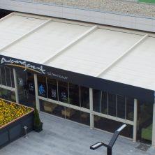 Beyaz, Restaurant, Otomatik Pergole