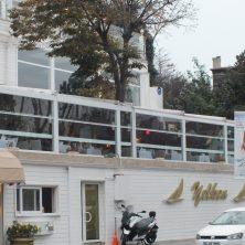 Beyaz, Restorant, Giyotin Cam Sistemi