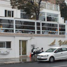 Yelken Restorant, Beyaz, Giyotin Cam Sistemleri