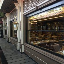 Şık Modern, Restorant, Giyotin Cam Sistemi