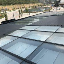 Sabit Cam Tavan, Açılır, Kapanır Perde, Panel Roof Sistemi