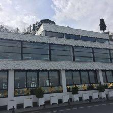 Beyaz, Şık, Cafe & Restorant, Giyotin Cam Sistemi