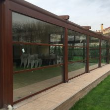 Giyotin Cam Sistemi, Kahverengi Kış Bahçesi