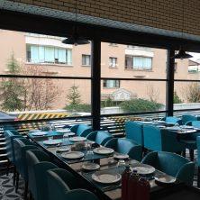 Şık Restoran, Giyotin Cam Sistemi