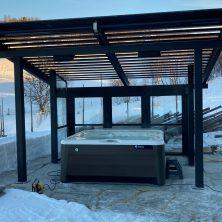 Norveç Trondhime'da Uygulanan Alüminyum Panel Tavan Projemiz