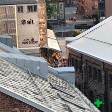 Norveç Trondhime'da Uygulanan Panel Roof Projemiz