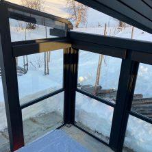 Norveç Trondhime'da Uygulanan Panel Roof Tavan Projemiz