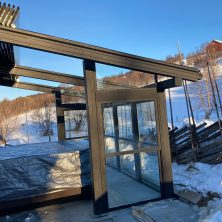 Norveç Trondhime'da Uygulanan Panel Roof Sistemler Projemiz