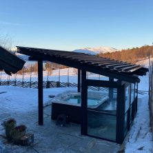 Norveç Trondhime'da Panel Roof Sistemler Projemiz
