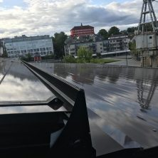 Norveç Trondhime'da Panel Roof (Bioclimatic Tavan) Projemiz