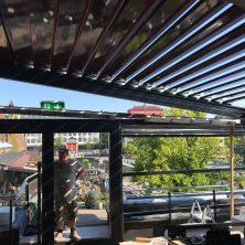 Norveç Trondhime'da Uygulanan Panel Roof (Bioclimatic Tavan) Projemiz
