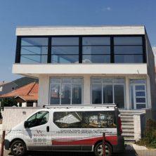 Montenegro'da Yapılan Giyotin Cam Sistemi Uygulamamız