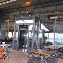 Restoranlar, Otomatik Sensörlü, Fotoselli Kapı