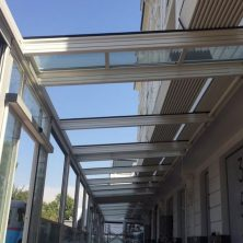 Orzu Hotel, Özbekistan alüminyum panel roof projesi