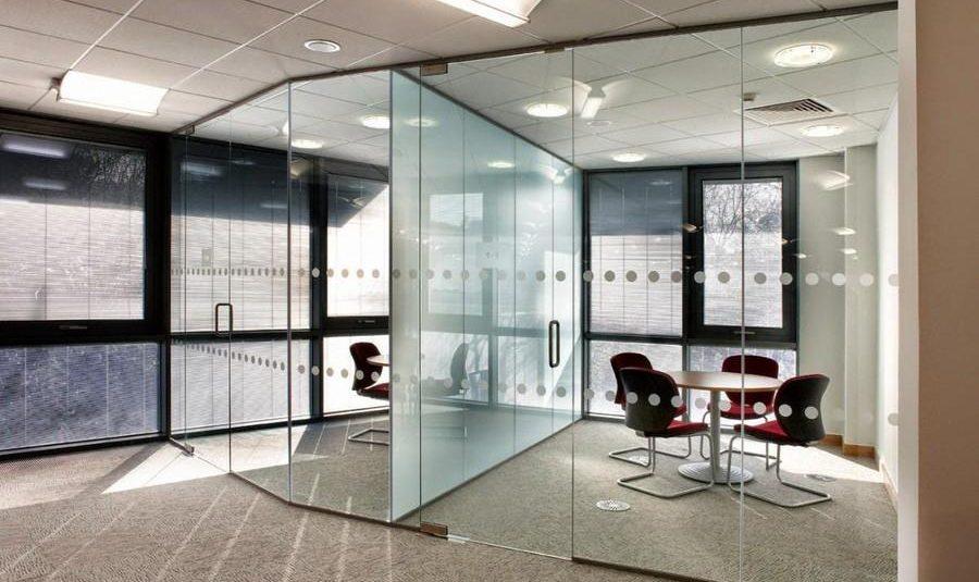 Buzlu Cam, Ofis, Cam Bölme Sistemi