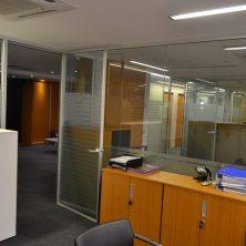 Jaluzili Ofis, Cam Bölme Sistemi