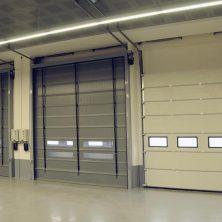 Otopark Tipi, Seksiyonel Garaj Kapıları
