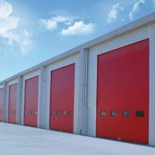 Kırmızı Seksiyonel, Garaj Kapıları