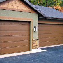 Ahşap Görünümlü Ev Tipi, Seksiyonel Garaj Kapıları