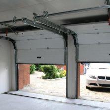 Demir, Beyaz, Seksiyonel Garaj Kapıları