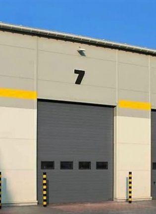 Hangar Tipi, Seksiyonel Garaj Kapıları