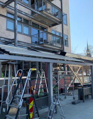 Alüminyum açılan tavan panel, roof sistem mühendislik işlerimiz.