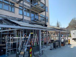 Trondheim, Norveç Açılır Tavan Panel Roof Uygulama