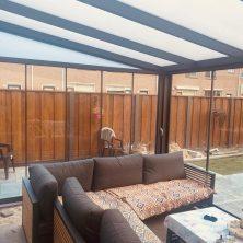 cam tavan veranda sistemi