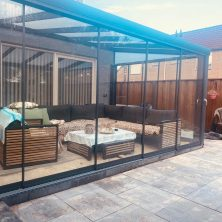 sabit cam tavan veranda