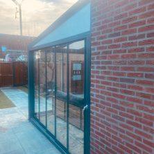 sabit cam tavan veranda sistemi