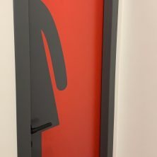Bayan WC Kapı