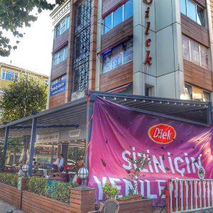 Bakırköy/İncirli Dilek Pastanesi Giyotin Cam Projesi