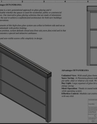 Tek Camlı Elit Giyotin Cam Sistemleri Teknik Kataloğu