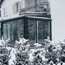 Sabit Isıcamlı Veranda ısı cam Elit Kış Bahçesi