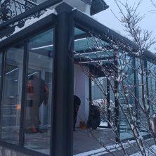 Veranda ısı cam Elit Seri Sürme Kış Bahçesi
