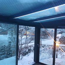 Sabit Isıcamlı Elit Seri Sürme Kış Bahçesi